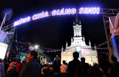 Địa điểm đón Giáng Sinh Đà Nẵng 2018