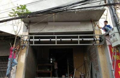 Lắp đặt cửa cuốn tại Đà Nẵng, cửa sắt, cửa kéo, cửa nhôm kính