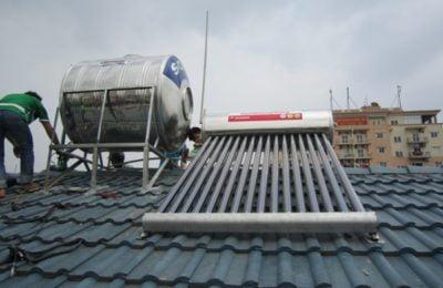 Lắp đặt máy nước nóng năng lượng mặt trời Đà Nẵng