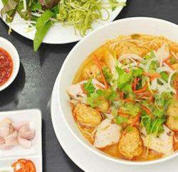Cách nấu món bún chả cá Đà Nẵng ngon nhất tại nhà
