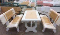 Mẫu bàn ghế đá đẹp Đà Nẵng