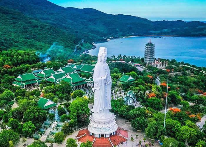 Hình ảnh chùa Linh Ứng Bãi Bụt