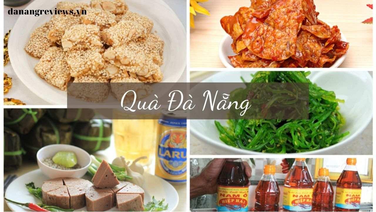 quà Đà Nẵng - bánh khô mè